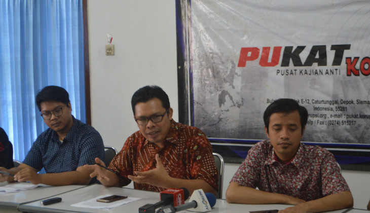 Pukat UGM Desak Presiden Tolak Revisi UU KPK