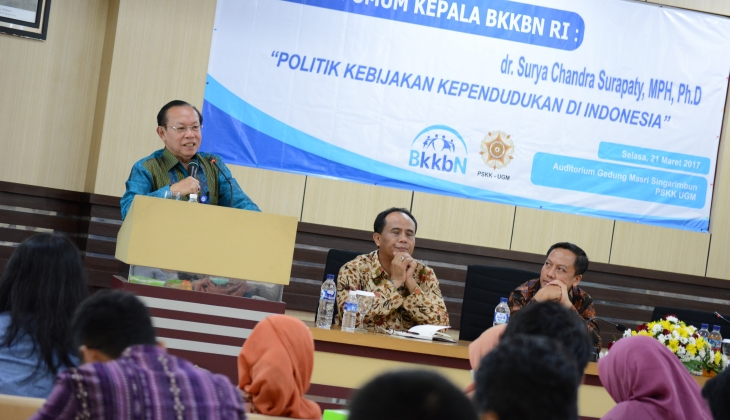 Kepala BKKBN: Kualitas SDM Dibangun Lewat Program KB