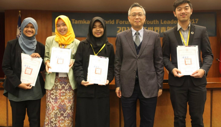 Mahasiswa UGM Mengikuti World Forum for Youth Leaders di Taiwan