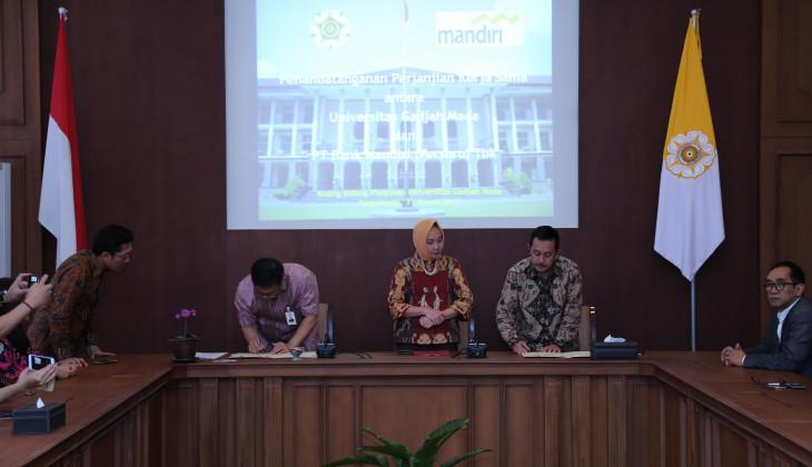 UGM dan PT. Bank Mandiri Jalin Kerjasama