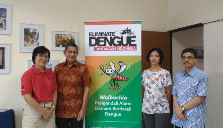 Yayasan Tahija Dorong Penelitian Nyamuk Wolbachia