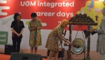 Rektor UGM Membuka UGM Integrated Career Days 2017