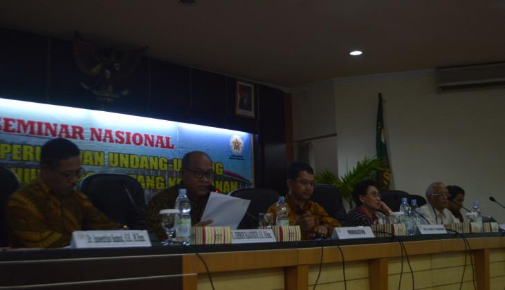 Indonesia Darurat Hutan, UGM Desak Pemerintah Ganti UU Kehutanan