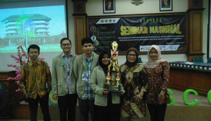 Tim Debat GAMA Cendekia Juara Debat Nasional