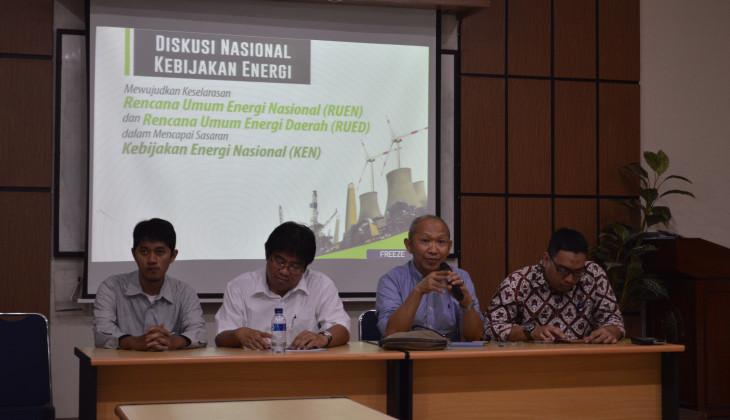 PSE UGM Gelar Diskusi Nasional Kebijakan Energi