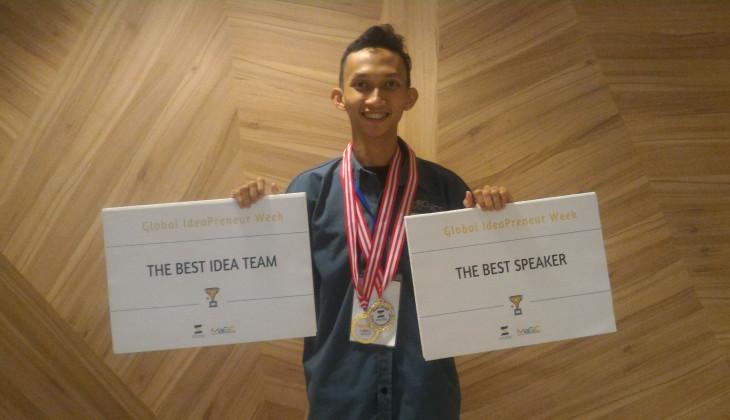 Mahasiswa UGM Juarai Global Ideapreneur Week di Malaysia