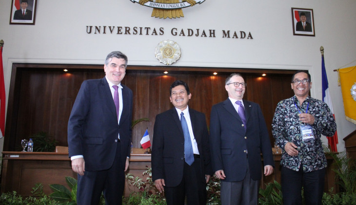 UGM Hosts The 9th Joint Working Group Indonesia-France