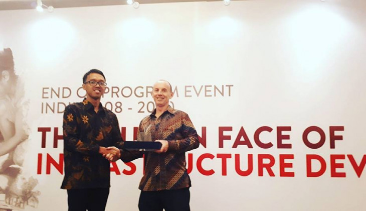 Mahasiswa UGM Memperoleh Indonesia Infrastructure Initiative Awards