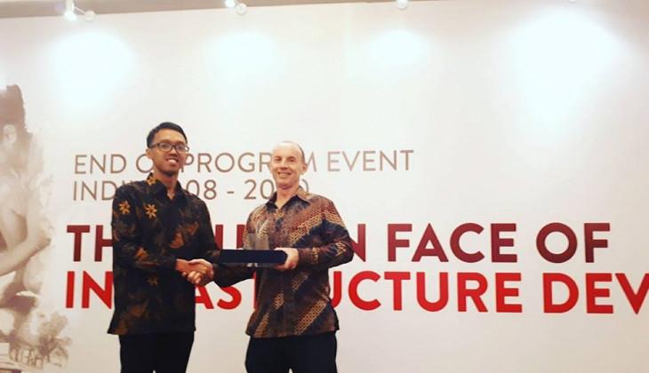 Mahasiswa UGM Memperoleh Indonesia Infrastructure Initiative Awards