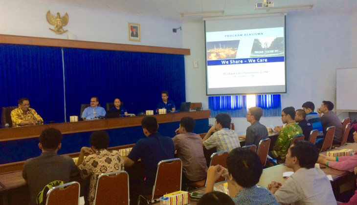 Chandra Asri Petrochemical Tawarkan Beasiswa Ikatan Dinas