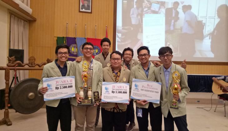 UGM Juara Umum LKTN UNYSEF 2017