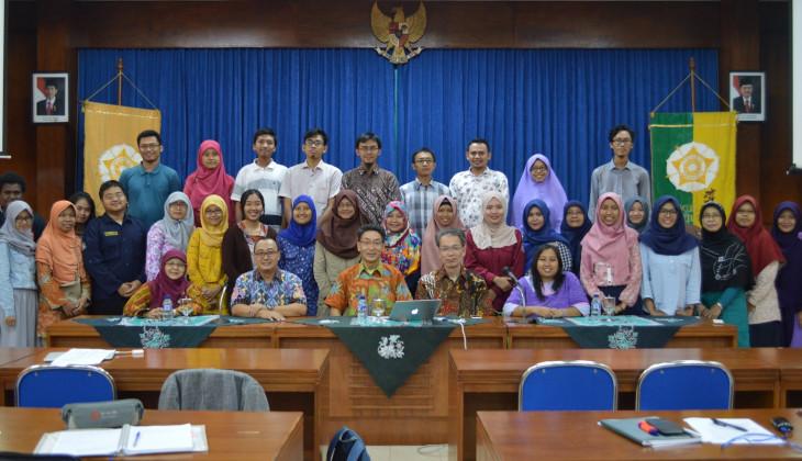 Pakar Biologi Molekuler dan Bioteknologi Tanaman dari Nagoya Berkunjung ke Fakultas Biologi UGM