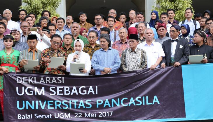 UGM Meneguhkan kembali sebagai Universitas Pancasila