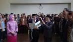 Prof Panut Dilantik Sebagai Rektor UGM