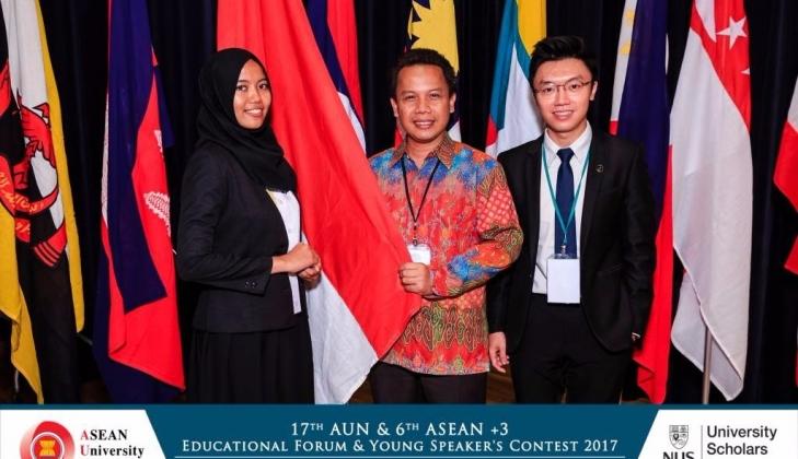 Mahasiswa UGM Juara 3 Lomba Pidato se-ASEAN
