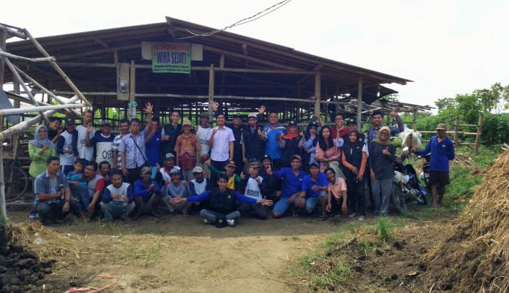 UGM Beri Pelatihan Complete Feed di Bukateja, Purbalingga