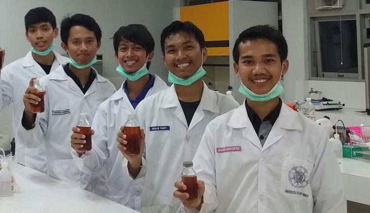 Mahasiswa UGM Optimalkan Potensi Biodiesel dari Minyak Jelantah