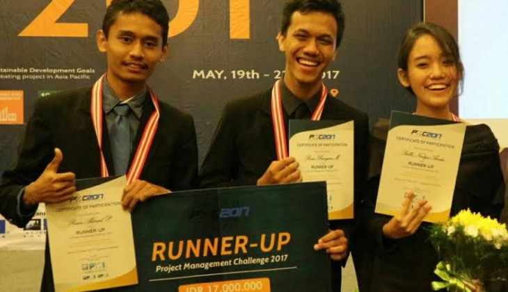 Mahasiswa UGM Juara 2 Project Menagement Challenge 2017
