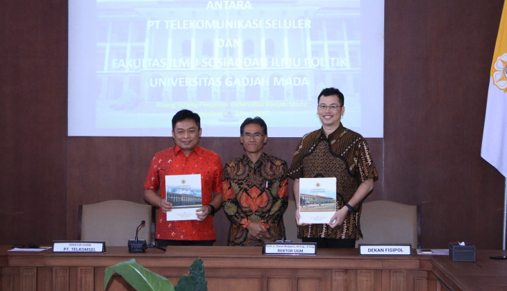 UGM and Telkomsel Collaborate to Develop Digital Library
