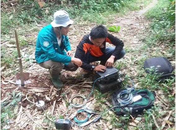 Mahasiswa UGM Membuat Peta Zonasi Rawan Longsor di Desa Margoyoso Magelang