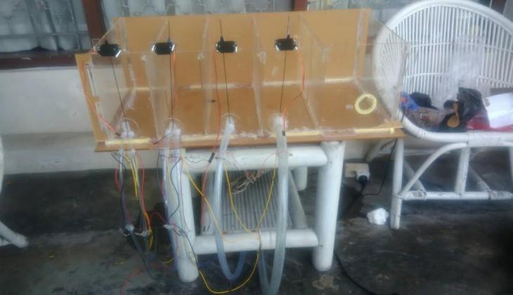 Mahasiswa UGM Kembangkan Mesin Grading Ikan Otomatis