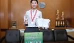 Mahasiswa UGM Raih Juara I Mahasiswa Berprestasi Nasional 2017