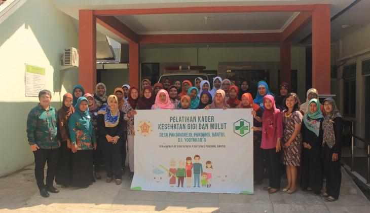 FKG UGM Edukasi Kesehatan Gigi dan Mulut Masyarakat Pundong
