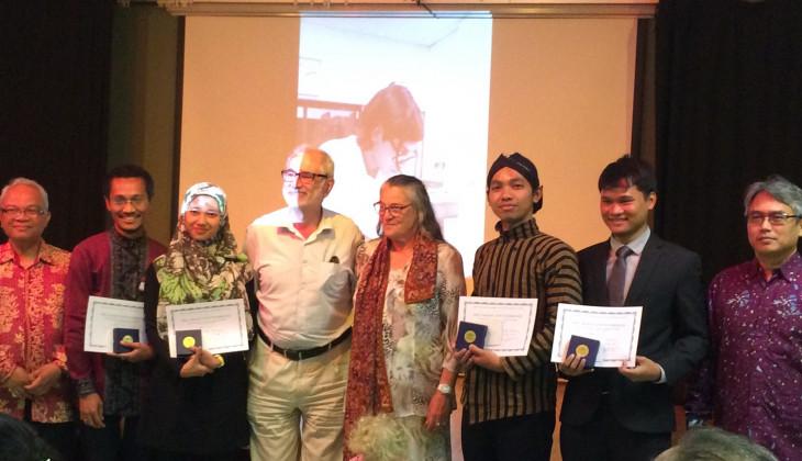 Dosen Geografi UGM Terima Penghargaan Prix Mahar Schützenberger