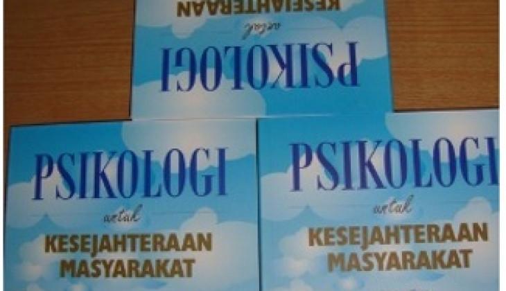 Diluncurkan Buku 'Psikologi untuk Kesejahteraan Masyarakat'