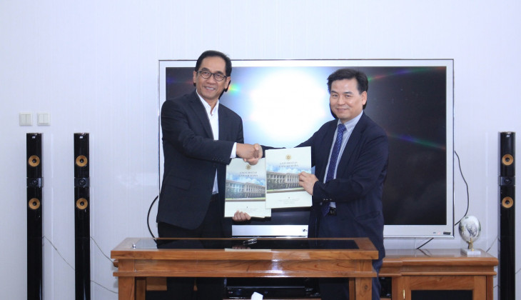 UGM Builds Cooperation with Korea Maritime and Ocean University