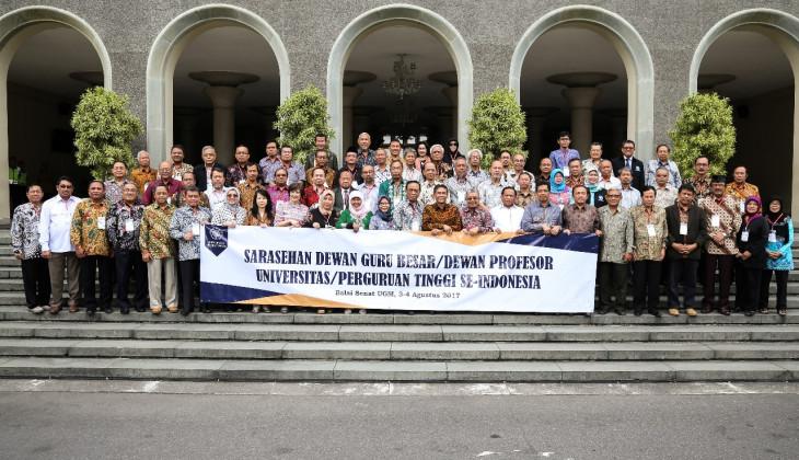 UGM Menginisiasi Forum Dewan Guru Besar se-Indonesia