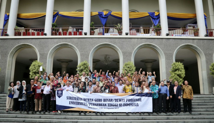 30 PT Gagas Terbentuknya Forum Guru Besar Indonesia