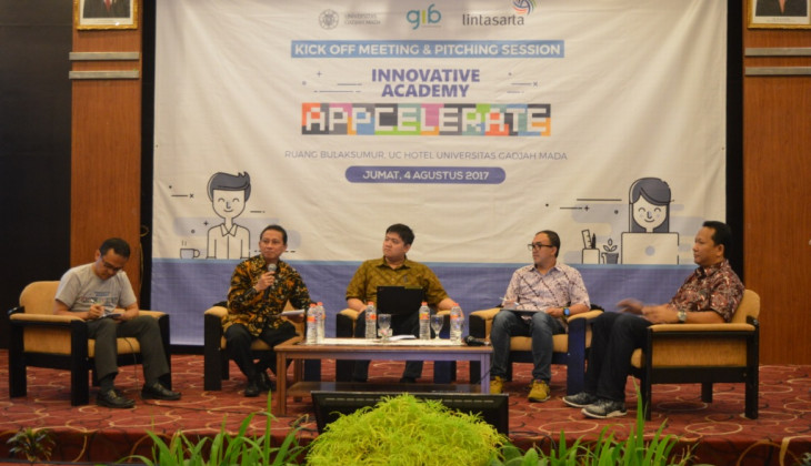Delapan Startup Binaan UGM Mengikuti Program Innovative Academy Appcelerate