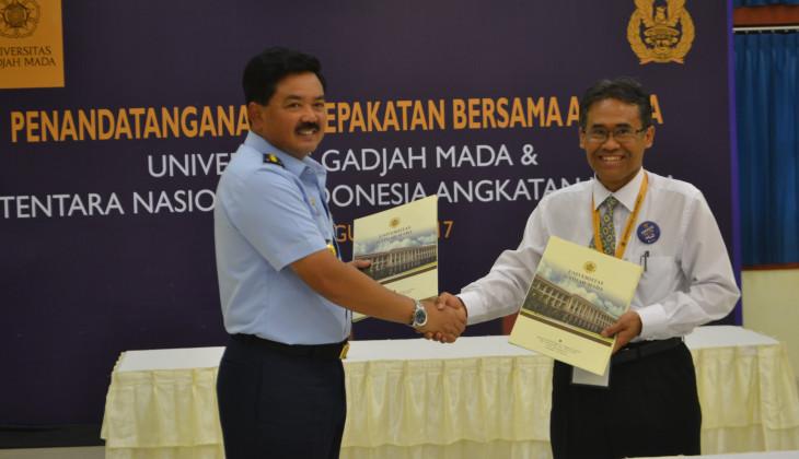 UGM dan TNI AU Kerja Sama Pembuatan Radar