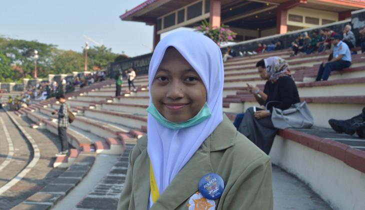 Kamila Putri, Usia 15 tahun Menjadi Mahasiswa UGM