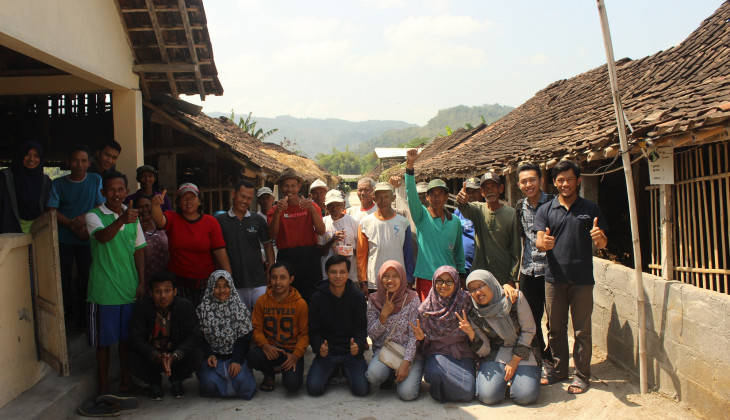 Mahasiswa Pasca Melakukan Pendampingan Kepada Kelompok Ternak
