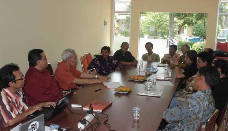 PSP Terima Kunjungan Forum Kajian Pancasila dan Ketatanegraan Indonesia Kabupaten Semarang