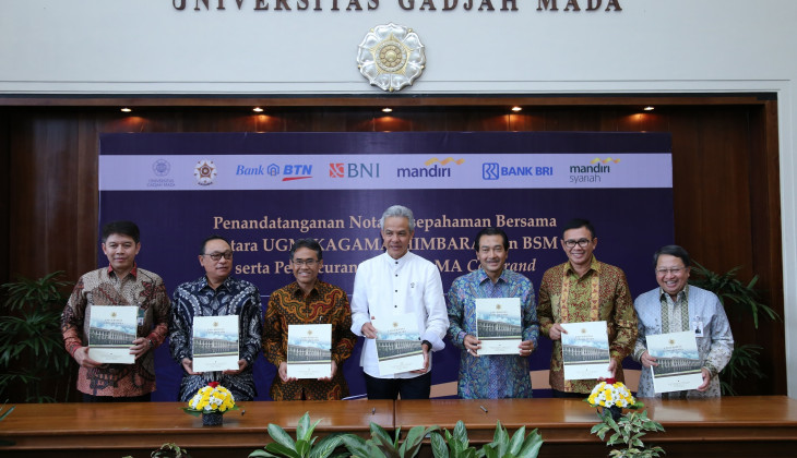 UGM, KAGAMA dan Bank BUMN Terbitkan Kartu GAMA Co-Brand