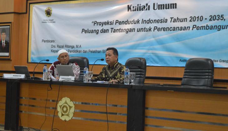 Penduduk Indonesia Mencapai 305,7 Juta di Tahun 2035