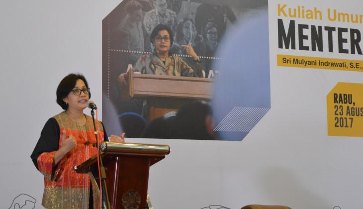 Sri Mulyani: Defisit APBN 2018 Menjaga Momentum Pertumbuhan Ekonomi