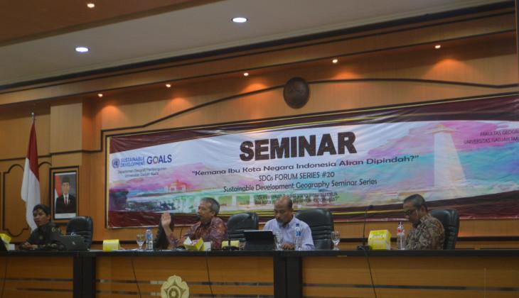 Pakar Geografi UGM Ajukan Rekomendasi Pemindahan Ibu Kota ke Kalimantan Selatan