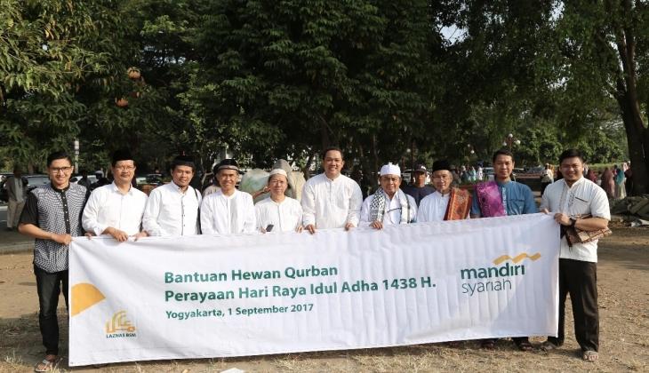 UGM Menerima Bantuan Hewan Kurban dari BSM