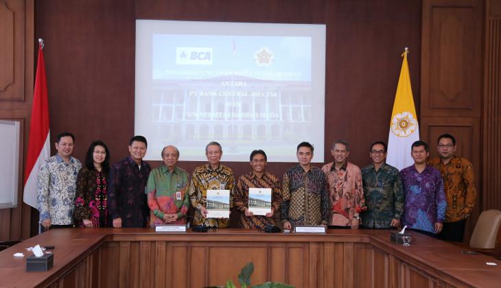 UGM dan BCA Jalin Kerjasama Peningkatan Kualitas SDM