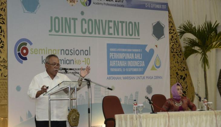 Menteri PUPR: Peran Ahli Geologi Penting Dalam Pengurangan Risiko Pembangunan Infrastruktur