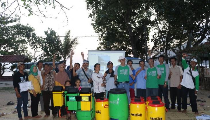 PSLH UGM Beri Pelatihan Pengelolaan Sampah di Pantai Wediombo