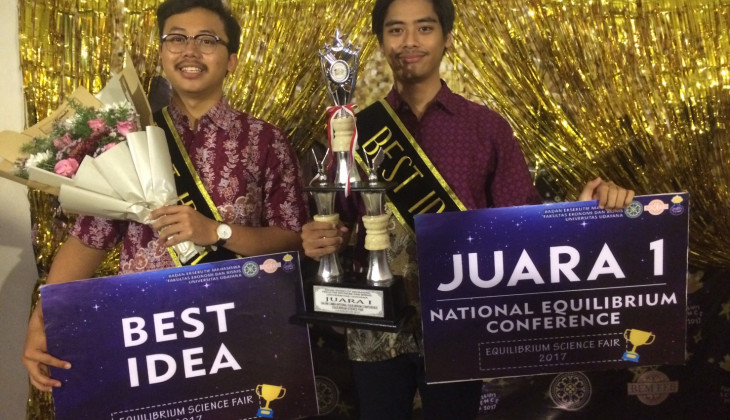 Mahasiswa  FEB UGM Juara 1 Equilibrium Science Fair