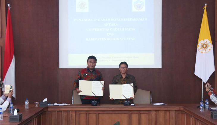 UGM Jalin Kerja Sama dengan Kabupaten Buton Selatan