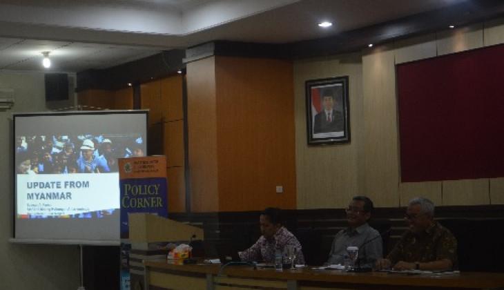 PSKK UGM Gelar Diskusi Tentang Myanmar