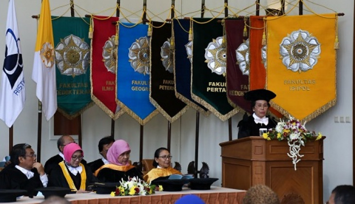 Prof. Partini's Inauguration as Professor: Change of Women's Roles