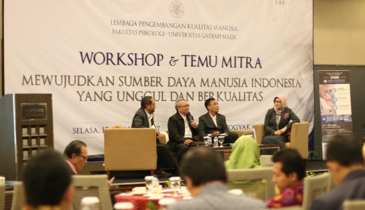LPKM Psikologi UGM Gelar Workshop dan Temu Mitra